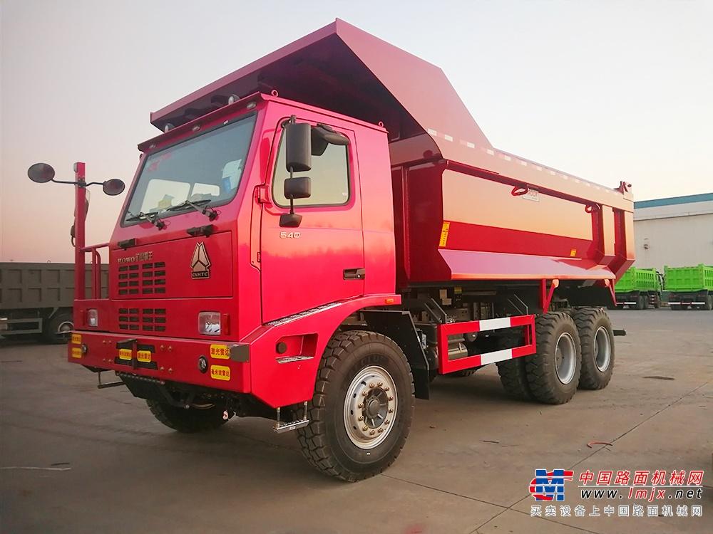 案例丨奥特集中润滑系统在中国重汽90T矿卡上的应用