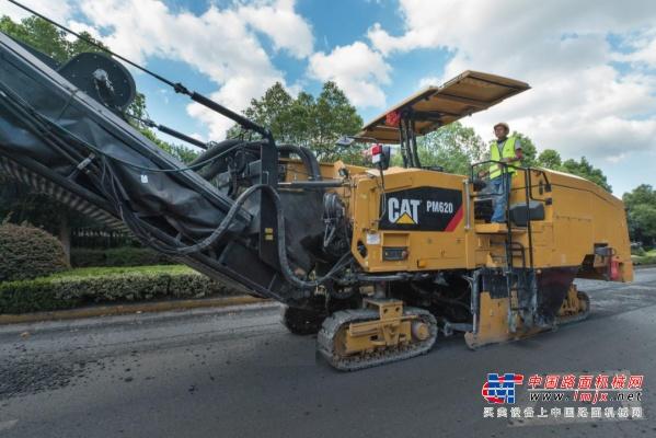 铣得快还省油, Cat®(卡特)PM620铣刨机就是这么优秀!