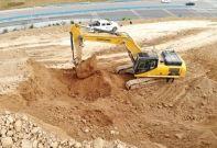 河南洛阳李老板:柳工挖掘机在矿山的表示非常霸气!