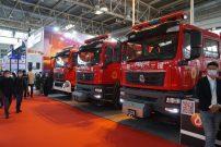 占据消防展半壁江山,中国重汽用实力诠释高端重卡