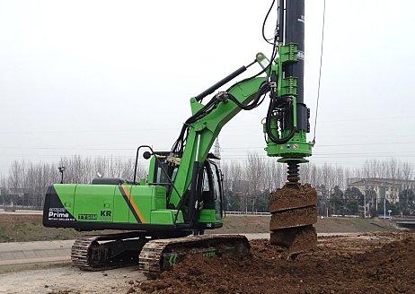 泰信机械KR50旋挖钻机 高清图