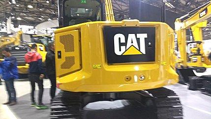卡特彼勒新一代Cat®307.5迷你型液压挖掘机高清图 - 内饰