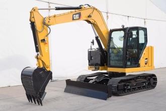 卡特彼勒新一代Cat®307.5迷你型液压挖掘机 高清图 - 外观